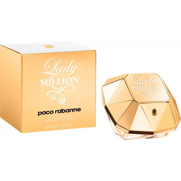 Paco Rabanne Lady Million Eau De Toilette női parfüm, 80 ml